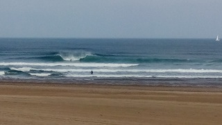 Surfing Cabo Penas